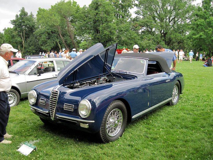 1949 Alfa Romeo 6C 2500SS SWB Cabriolet