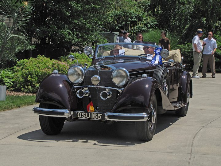 1939 Mercedes-Benz 540K Cabriolet A - Best of Class, International Designers and Coachbuilders Germany