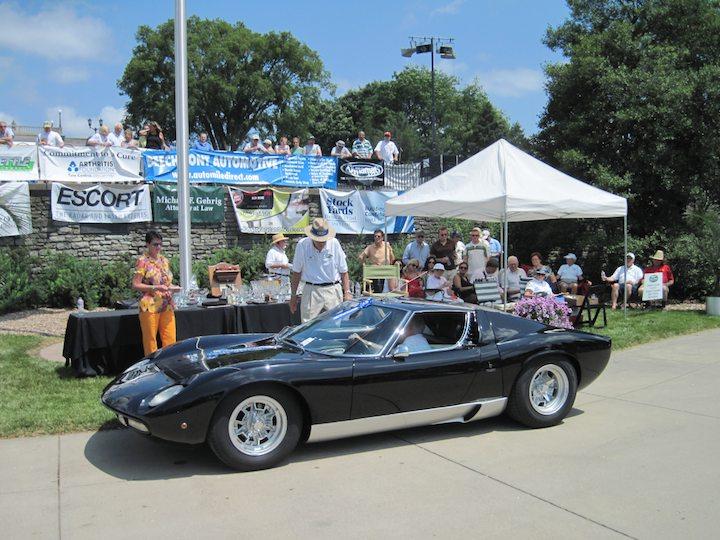 1972 Lamborghini Miura SV, Best of Class, International Designers and Coachbuilders Italy