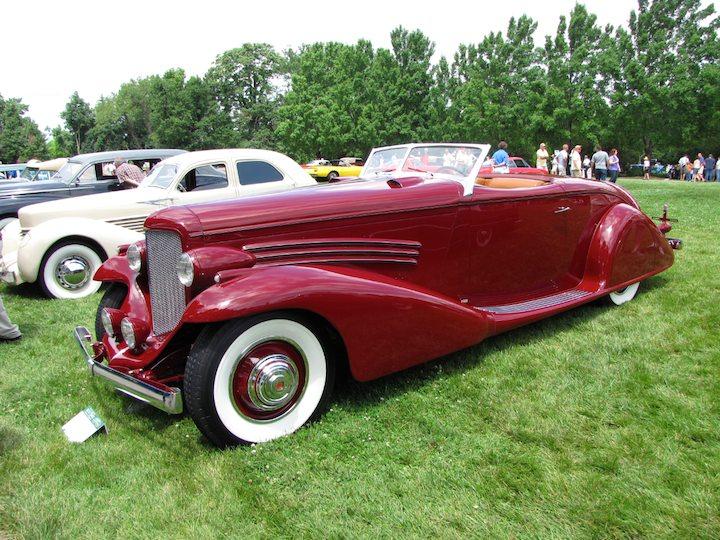 Best of Show - 1935 Duesenberg SJ Roadster by Bohman & Schwartz