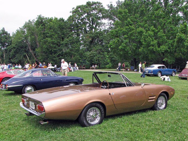 1967 Ghia 450SS Spyder