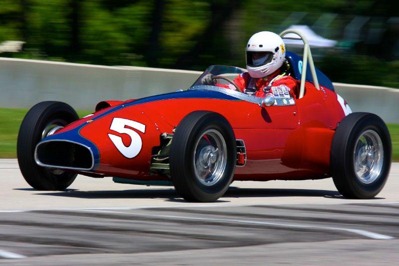 Bandini Formula Junior - Hugh Ruthven