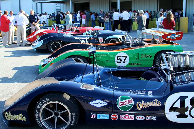 Can-Am Paddock