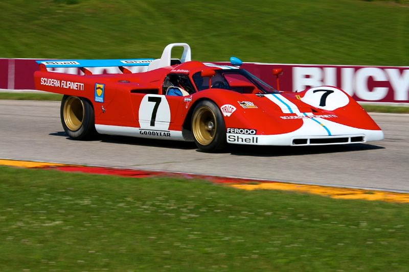 1971 Ferrari 512F - Tom Hollfelder