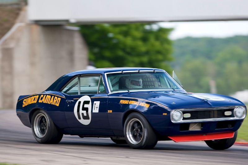 #15 Pat Ryan - 1967 Sunoco Chevrolet Camaro Z28