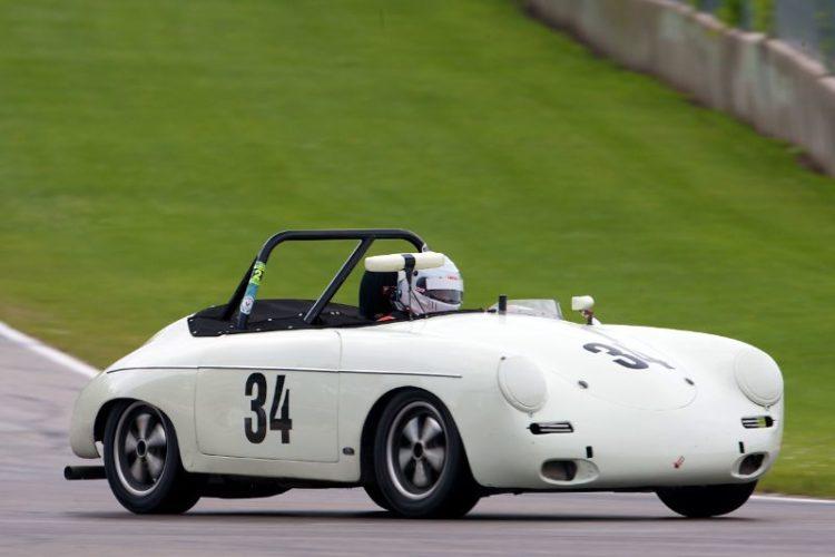 #34 George Balbach - 1961 Porsche Roadster