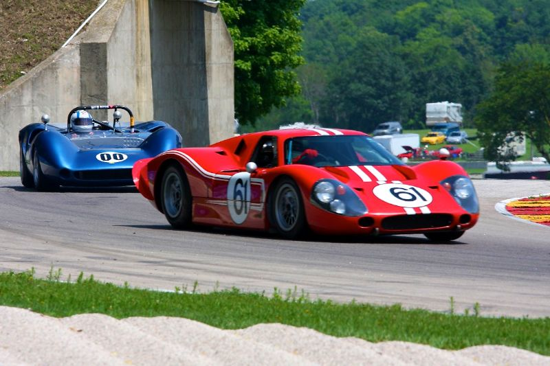 1967 Ford GT40 Mk IV - Bill Peter
