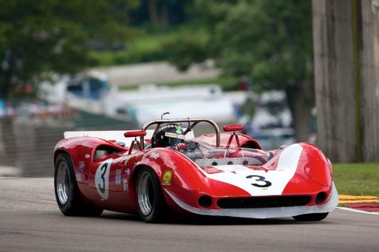#3 Johan Woerheide - 1965 Lola T70 MKII