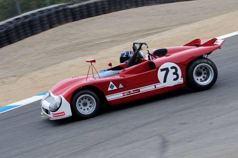 1971 Alfa Romeo T33/3 driven by Paul Brown.