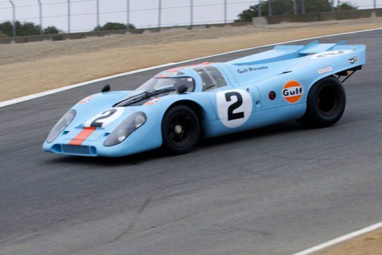 1969 Porsche 917K driven by Bruce Canepa.