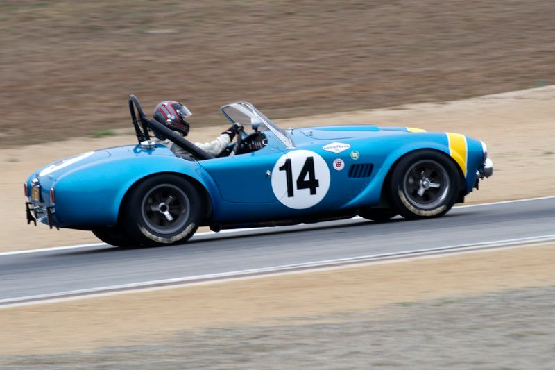 William 'Chip' Conner's 1964 Shelby Cobra FIA.