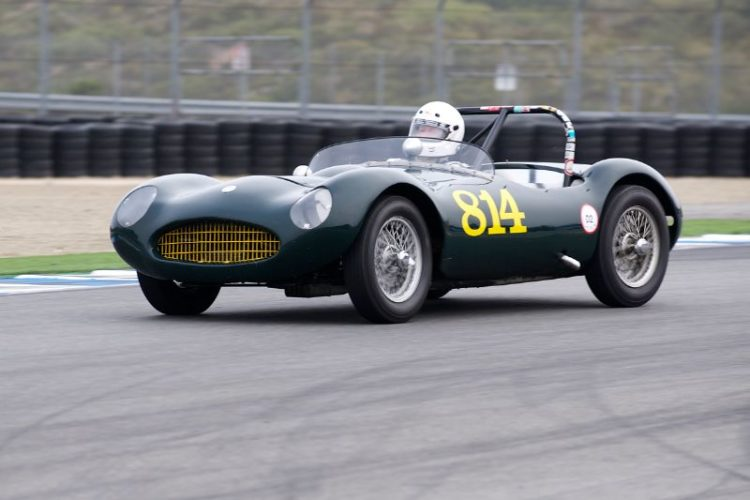 1955 Elva Mk.1 driven by Kevin Adair.
