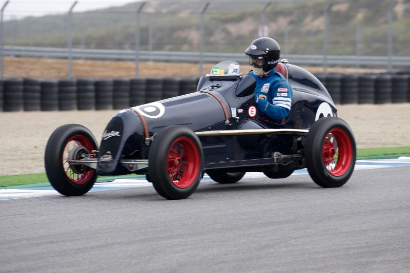 1936 Austin 7 Special driven by Dick Cupp.