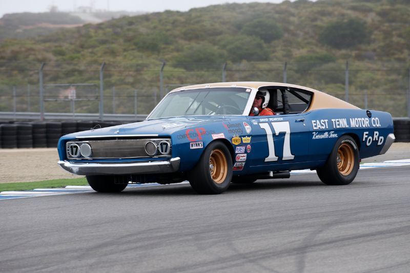 Jimmy Castle in his 1968 Ford Torino Cobra.