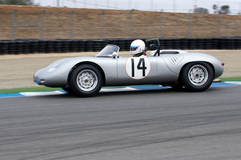 1961 Porsche RS61 driven by John Morton.