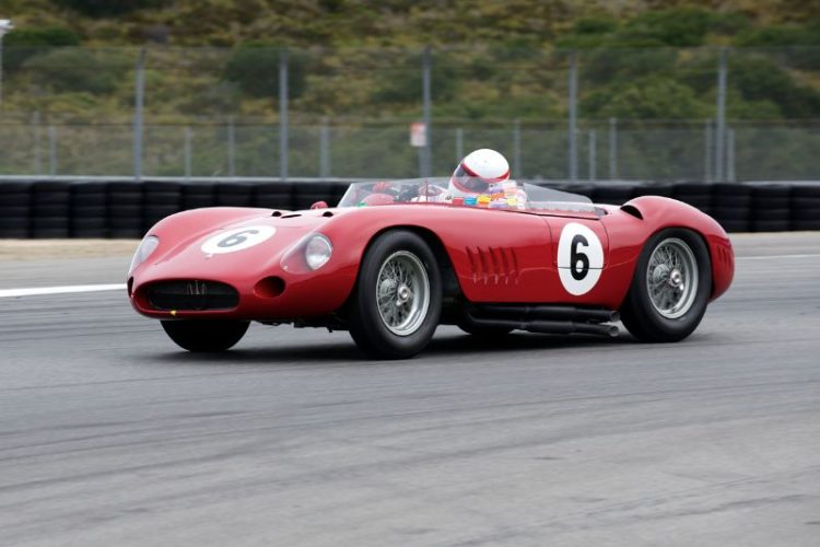 Erickson Shirley in his 1957 300S Maserati.