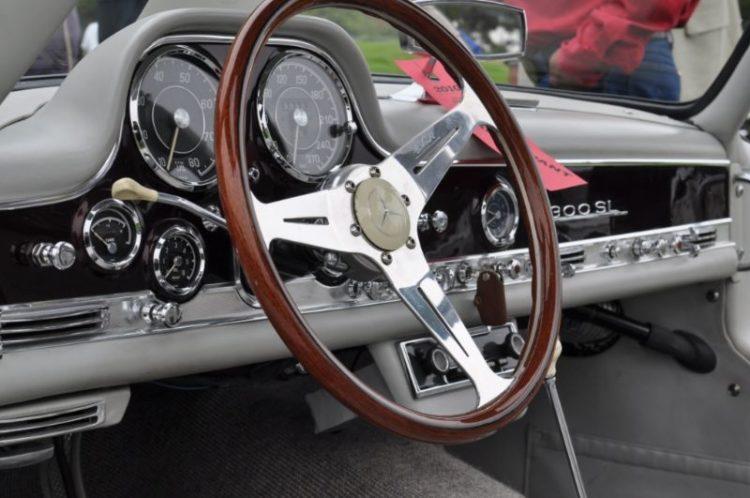 Custom Gullwing interior