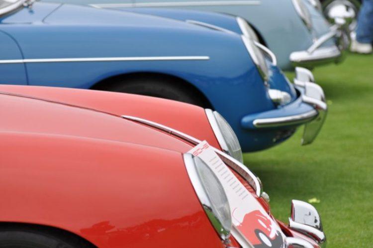 Porsche 356 lineup