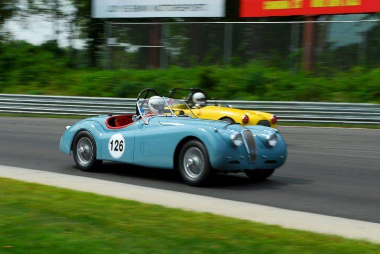1954 Jaguar XK120- Michael Kaleel.