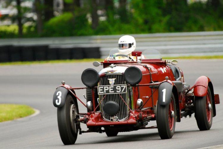 1936 Lagonda LG45 Team car- U Daniel Ghose.