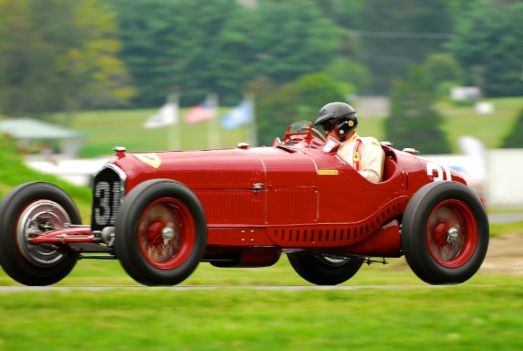 1931 Alfa Romeo Tipo B P3 - Peter Giddings