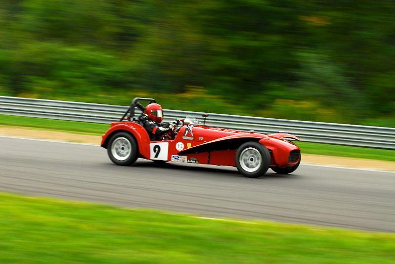 1962 Lotus Super 7 - Penelope Carr.