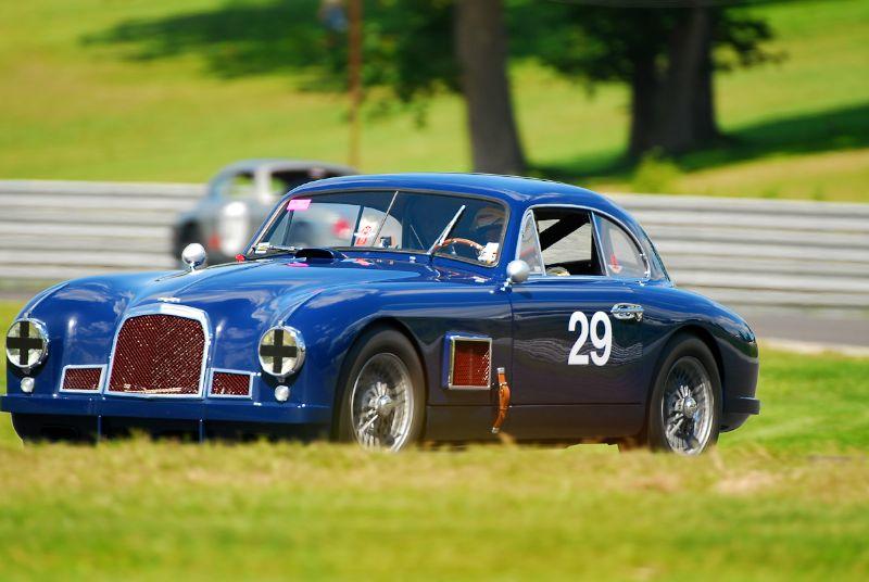 1950 Aston Martin DB2- Rob Burt.