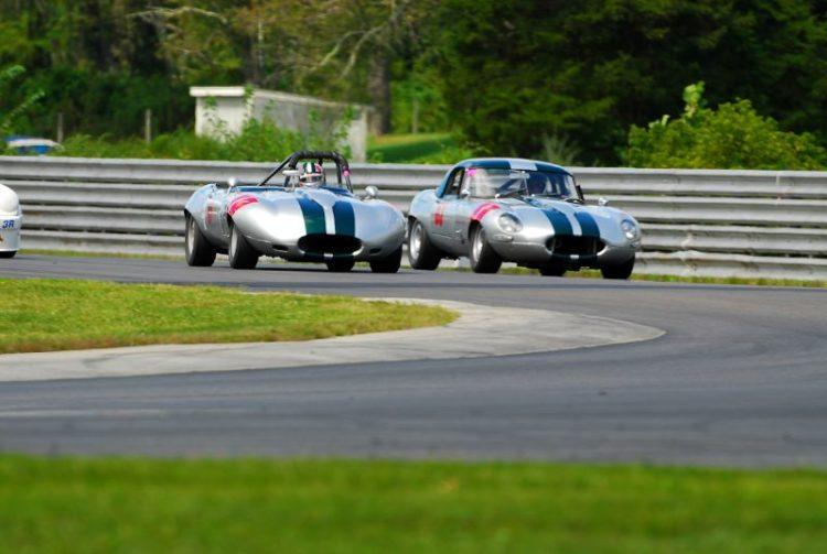 #61-#63- 1965 Jaguar XKE- Bob Herbert and Wilson Wright.