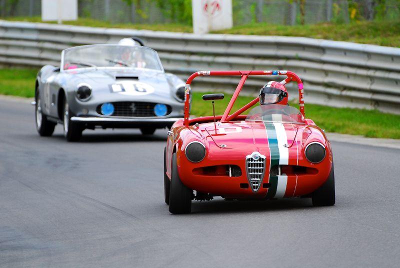 1959 Alfa Romeo Giulietta - Franco Amato.