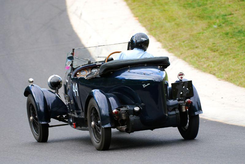 1928 Bugatti Type 44 - Geoff Dorey.