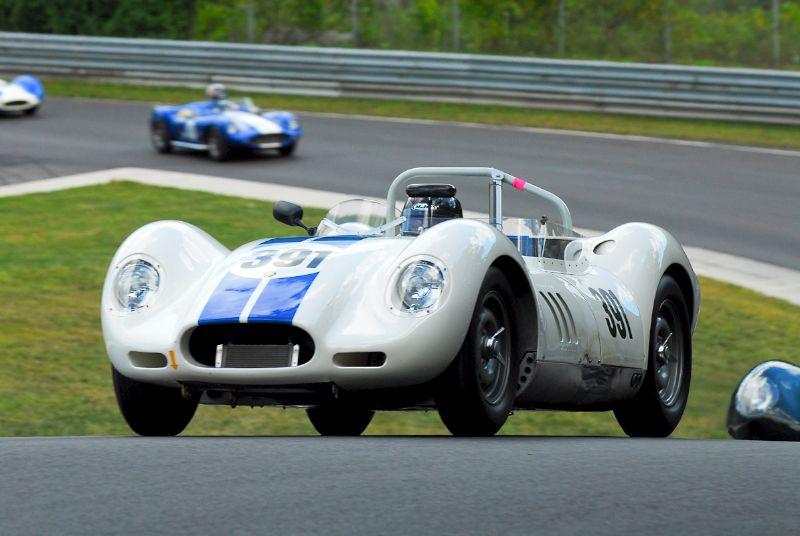 1958 Lister Jaguar - Herb Wetanson.