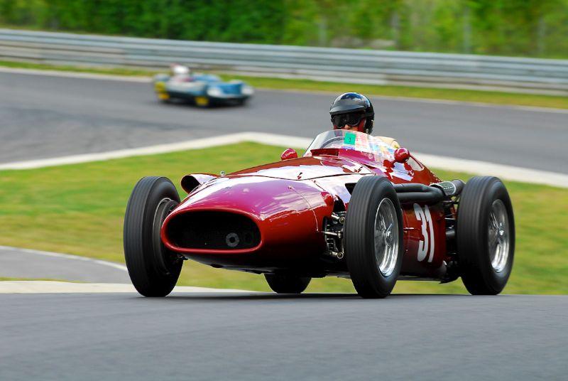 1954 Maserati 250F - Peter Giddings.