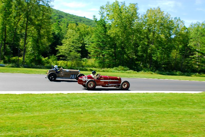 1931 Alfa Romeo Tipo B Peter Giddings and 1935 Fortd-Amilcar SS of Tom Ellsworth.