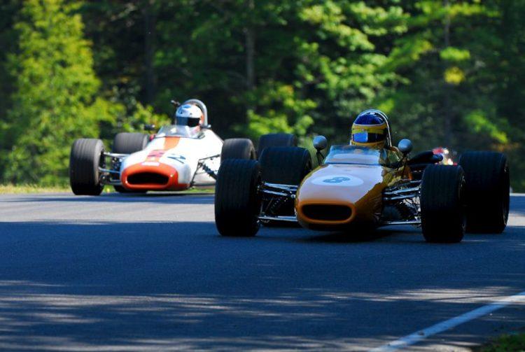 1967 McLaren Mk4A - Duncan Dayton and 1969 Brabham BT-29 - Dave Handy.