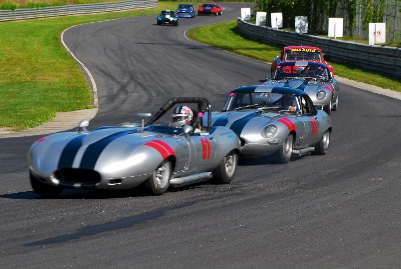 Donovan Motorsports - Jaguar XKE's