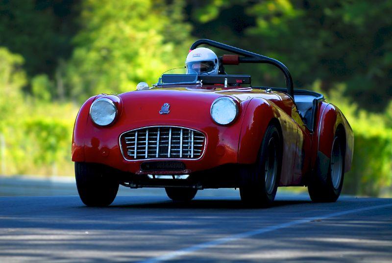 1957 Triumph TR3- David Spiwak.