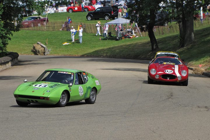 1969 Abarth Scarponi SS and 1965 Maserati Tipo 151