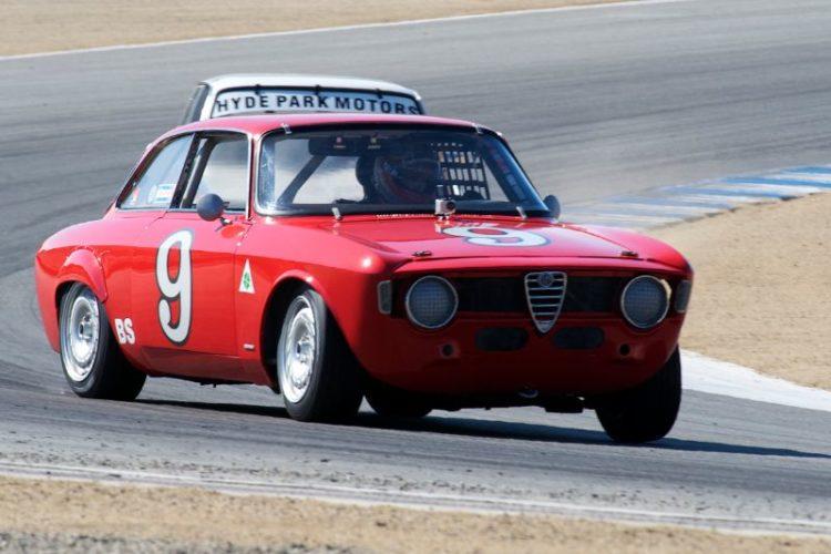 Ken Dobson's 1967 Alfa Romeo GT Veloce.