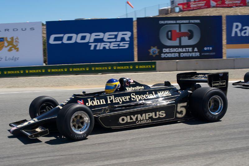 Duncan Dayton in his 1978 Lotus 79.