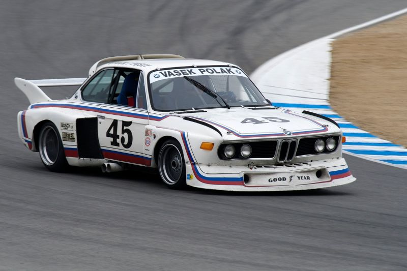 1974 BMW 3.0 CSL Batmobile driven by Andrew Cannon.