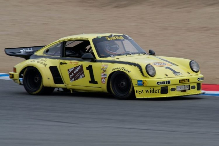 1973 Porsche 911 RSR driven by Peter Kitchak.