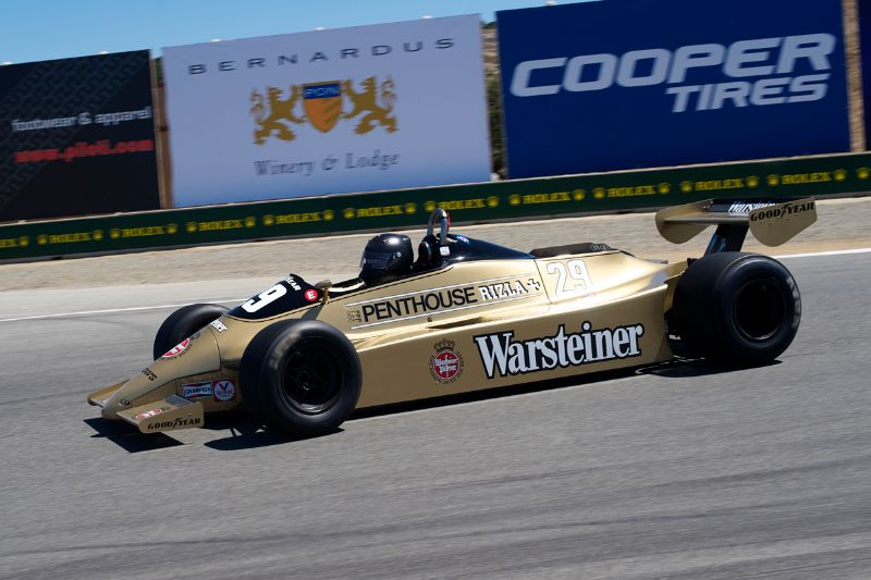 Rudy Junco in an 1980 Arrows A3.