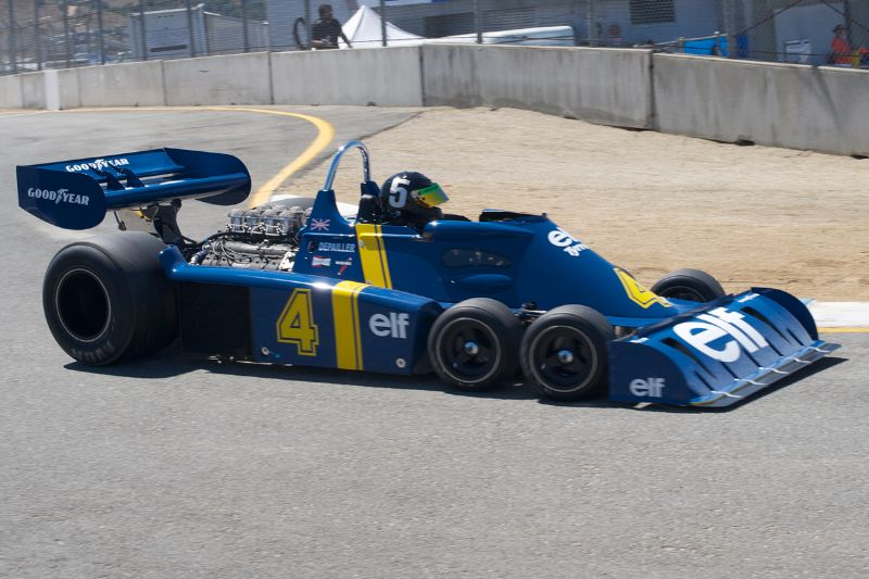 Craig Bennett's six wheel F-1 Tyrrell P34.