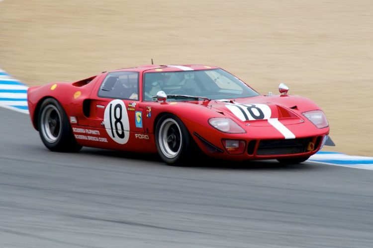 Nick Colonna's 1966 Ford GT40 in five.