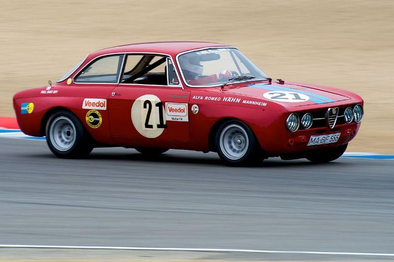 P. C. Nitoglia and his 1969 Alfa Romeo GT AM.