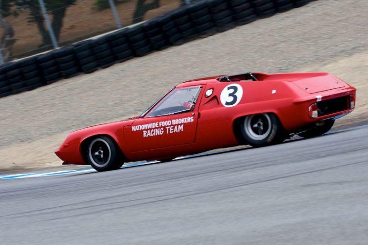 Bobby Rahal in his 1967 Lotus 47.