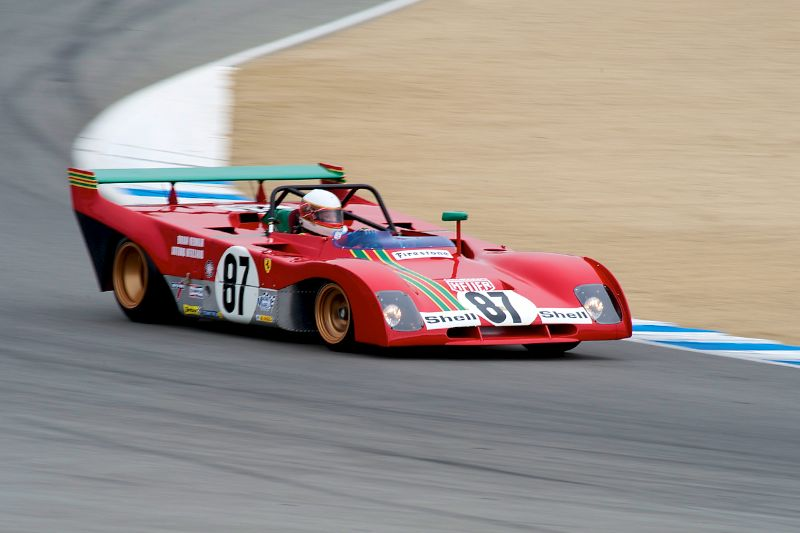 Steven Read's 1970 Ferrari 312PB.