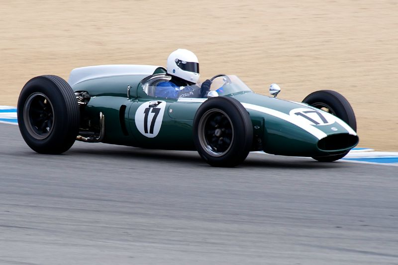 Third place in group 6A for Mark Gillies and his 1960 Cooper T53