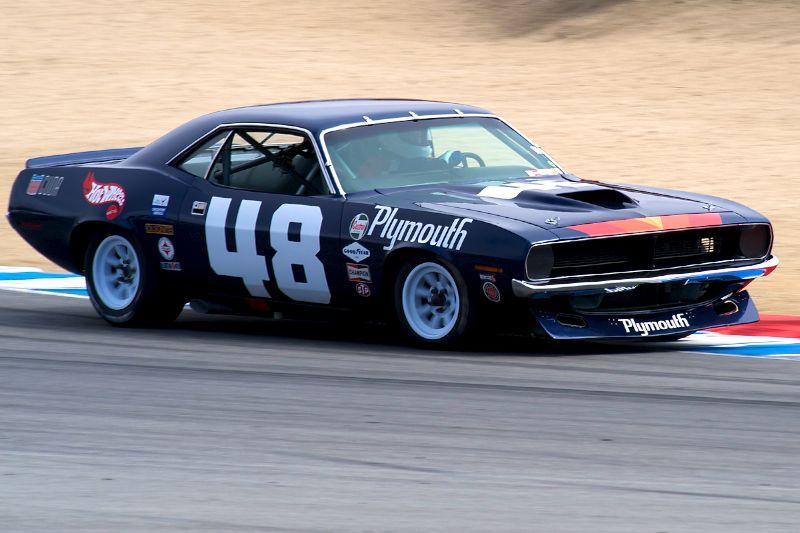 Craig Jackson's 1970 Plymouth Barracuda.