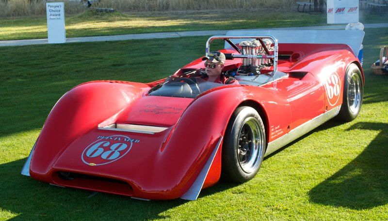 1968 Lola T160 Can-AM small block Chevy.